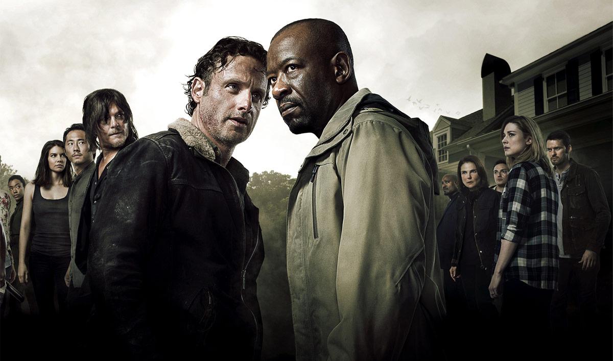 The Walking Dead Season 6 poster Rick Morgan