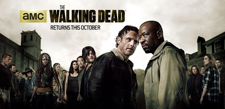 The Walking Dead Season 6 official poster cast photos from AMC