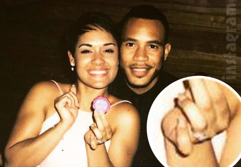 PHOTOS Grace Gealey\'s engagement ring, engaged to Empire co-star ...