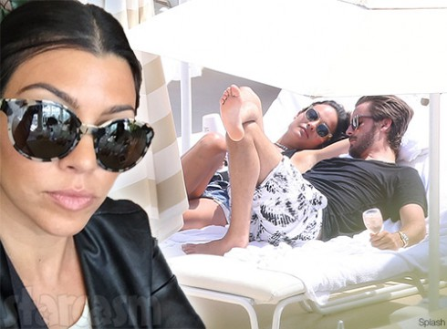 Kourtney & Scott near split?: Kourtney Scott Breaking Up