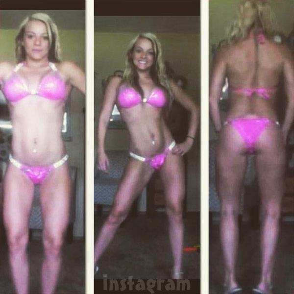 Mackenzie McKee fitness pageant bikini posing photos