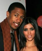 Nick Cannon and Kim Kardashian Dating Photo TN