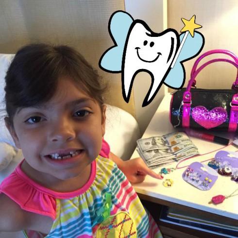 Sophia tooth fairy 11