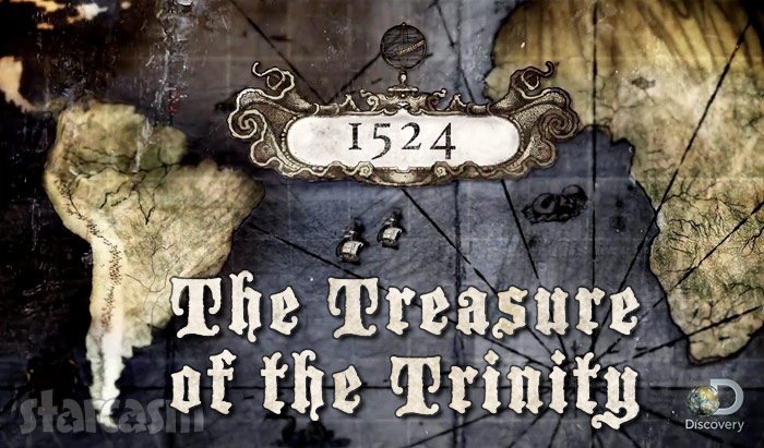 Treasure Quest: Snake Island Treasure of the Trinity legend