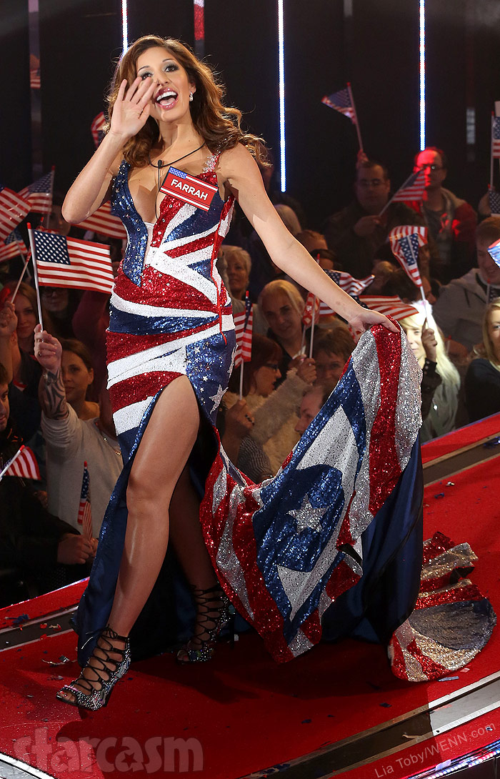 Farrah Abraham at the Celebrity Big Brother House in