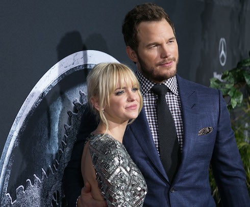 Premiere of Universal Pictures' 'Jurassic World' at Dolby Theatre - Arrivals  Featuring: Anna Faris, Chris Pratt Where: Los Angeles, California, United States When: 09 Jun 2015 Credit: Brian To/WENN.com