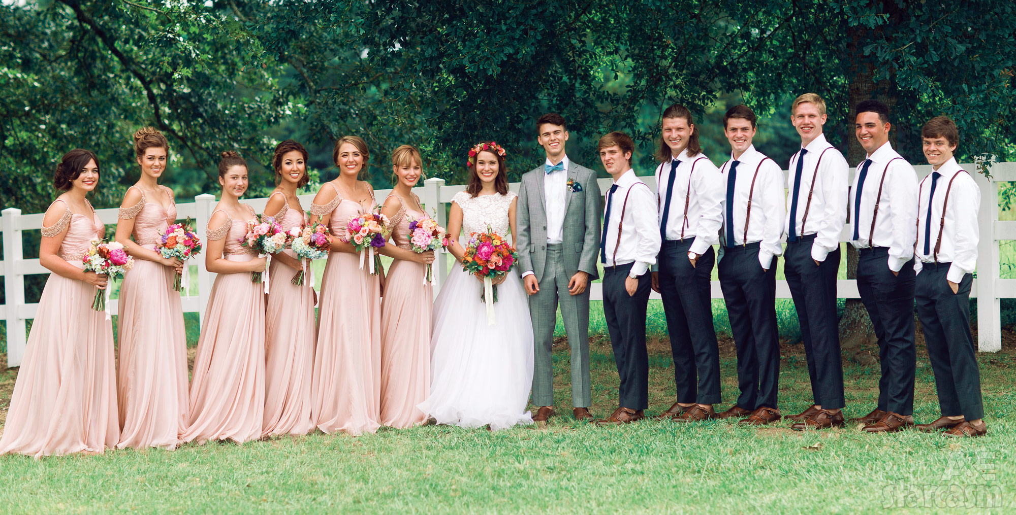 official mary kate and john luke wedding photos