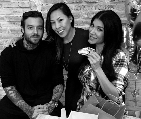Rosa Mendes baby shower