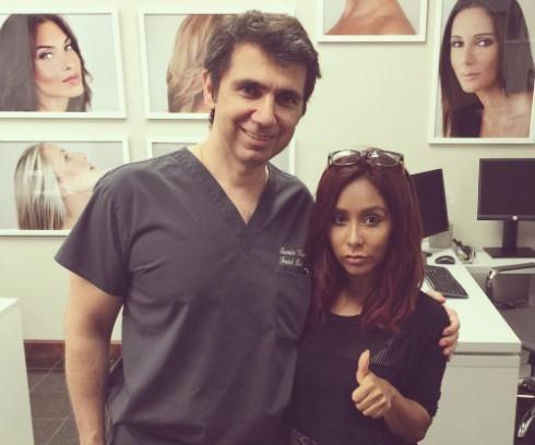 Snooki and Dr. Kassir