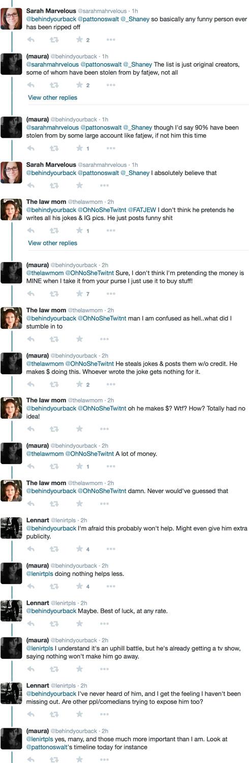 The Fat Jew Maura Quint Twitter 2