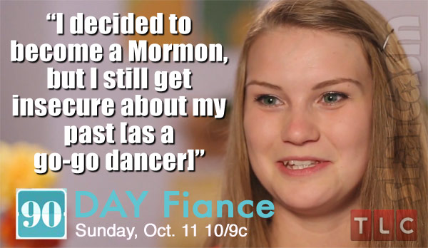 90 Day Fiance Season 3 Aleksandra Mormon quote