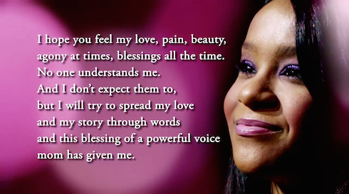 Bobbi Kristina tribute video