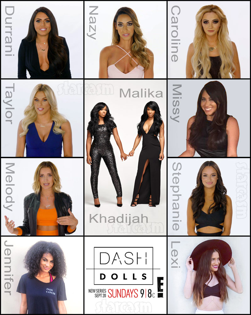 DASH Dolls cast photos names and social media links - American Girl Doll Hairstyles