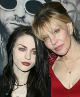 Frances Bean Cobain and Courtney Love TN
