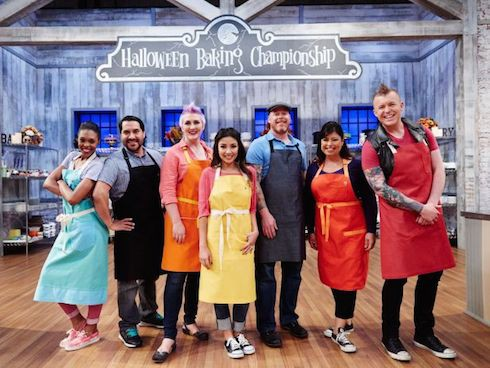 Halloween Baking Championship contestants