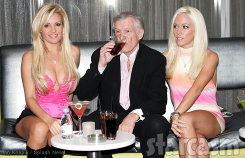 Hugh Hefner ladies