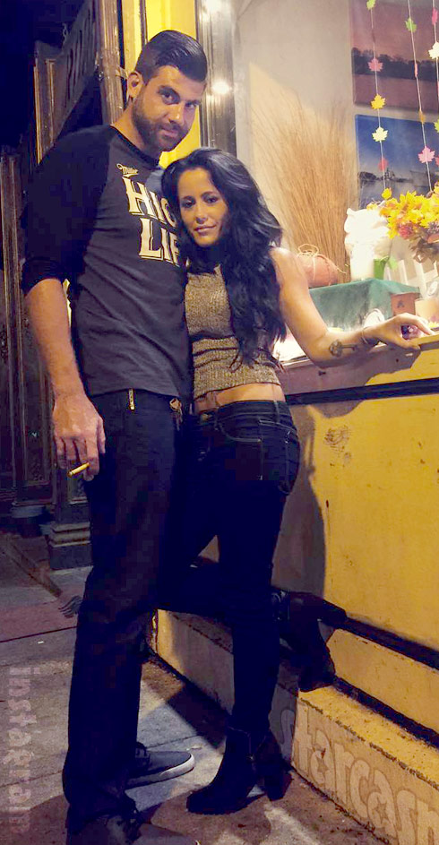 Jenelle Evans new boyfriend David Eason date night