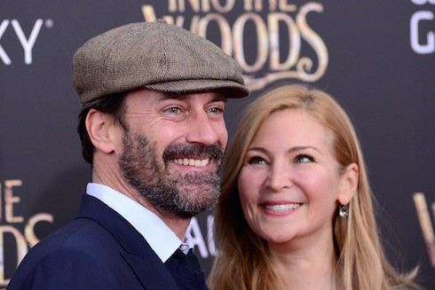 """Into the Woods"" World Premiere in New York City - Red Carpet Arrivals  Featuring: Jon Hamm,Jennifer Westfeldt Where: New York City, New York, United States When: 08 Dec 2014 Credit: Ivan Nikolov/WENN.com"