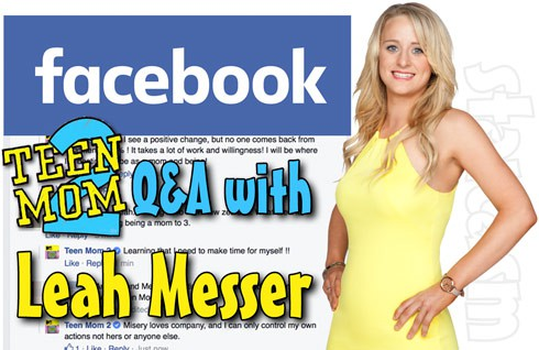 Teen Mom 2 Leah Messer interview 2015
