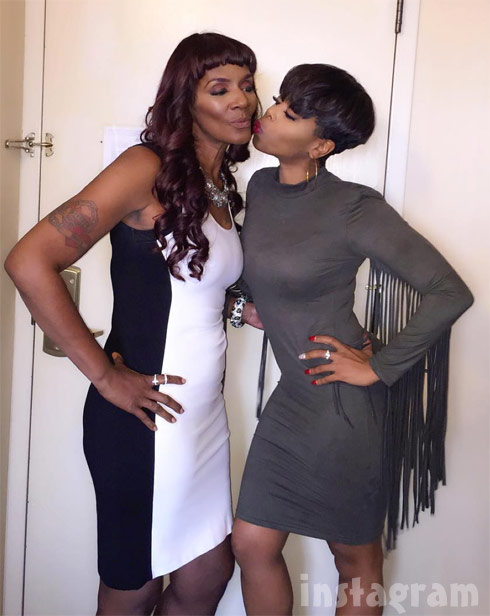 K Michelle And Rasheeda MUG SHOT LHHATL's Momm...