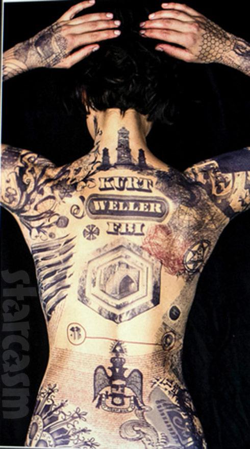 how long does jaimie alexander tattoos