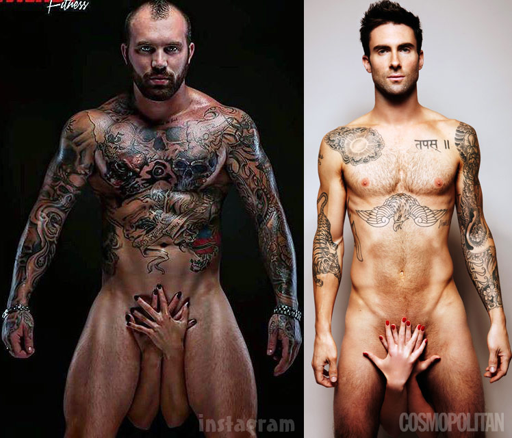Excellent adam levine naked suggest you