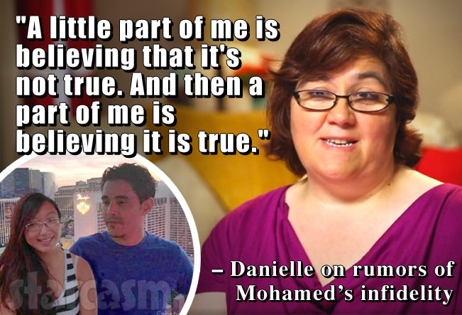 Are 90 day fiance s danielle and mohamed still together does he have