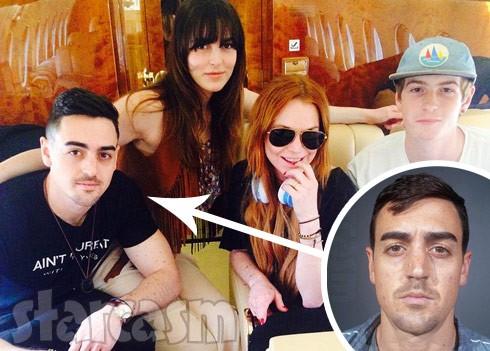 Lindsay_Lohan_brother_Michael_Arrested_490