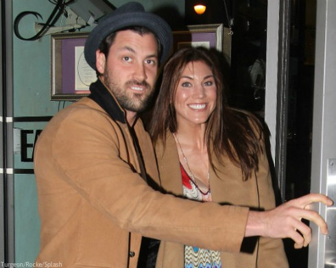 Maksim Chermokovskiy and Hope Solo Together