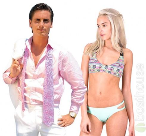 Scott Disick girlfriend Lindsay Vrckovnik together