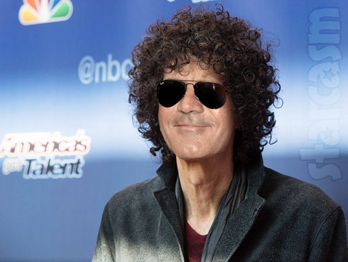 Simon Cowell with Howard Stern hair