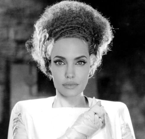 Angelina Jolie Bride of Frankenstein 2015