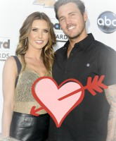 Audrina and Corey STN