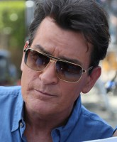 Charlie Sheen appears on 'Extra' as a co-host  Featuring: Charlie Sheen Where: Los Angeles, California, United States When: 12 May 2015 Credit: WENN.com