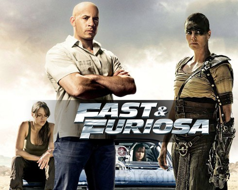 Fast and Furious Mad Max mashup up Fast and Furiosa