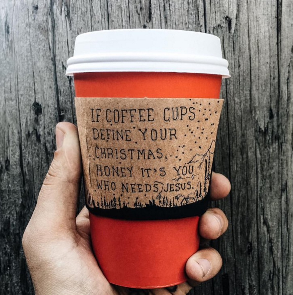 What is the Starbucks red cup?