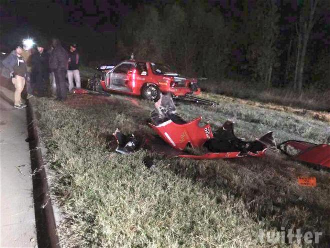 Photos Street Outlaws Justin Big Chief Shearer Crash