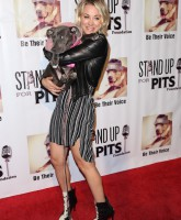 Stand Up For Pits Comedy Benefit at The Improv comedy club - Arrivals  Featuring: Kaley Cuoco Where: Los Angeles, California, United States When: 08 Nov 2015 Credit: Guillermo Proano/WENN.com