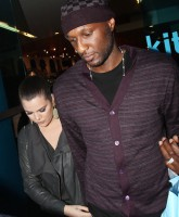 Khloe Kardashian and Lamar Odom leaving Kitson after doing some Christmas shopping West Hollywood, California - 01.12.11  Featuring: Khloe Kardashian and Lamar Odom Where: United States When: 01 Dec 2011 Credit: WENN