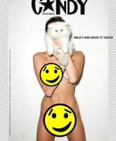 Miley Cyrus Full Frontal