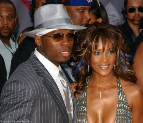 Viviva A Fox and 50 Cent Together