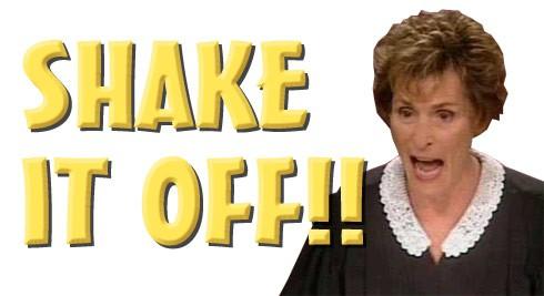Judge Judy shake it off