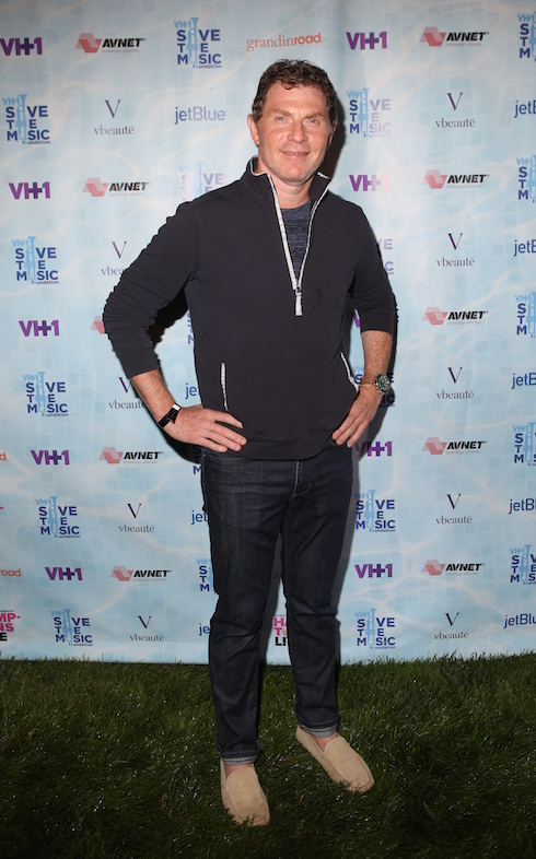 VH1 Save The Music Foundation 'Hamptons Live' Benefit at a Private Residence Featuring: Bobby Flay Where: Hamptons, New York, United States When: 08 Aug 2015 Credit: Derrick Salters/WENN.com