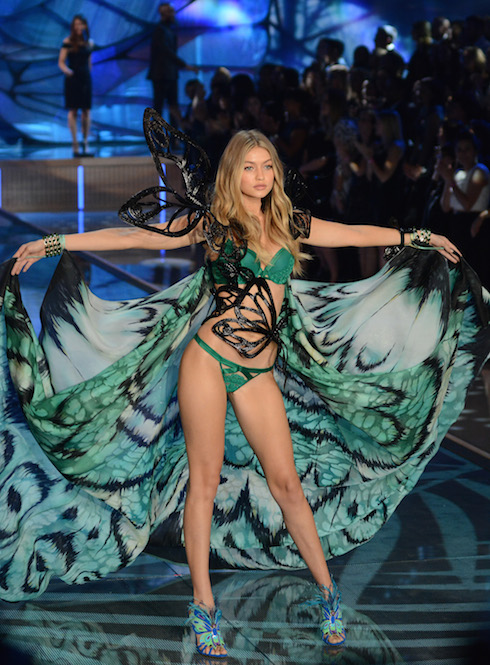 2015 Victoria's Secret Fashion Show - Runway Featuring: Gigi Hadid Where: Queens, New York, United States When: 10 Nov 2015 Credit: Ivan Nikolov/WENN.com