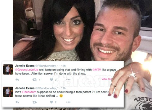 Nathan Griffith girlfriend Jessica engaged Jenelle quits Teen Mom 2