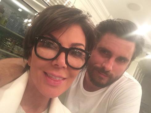 Scott Disick Kardashian Family 1