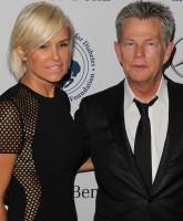 Yolanda and David Foster