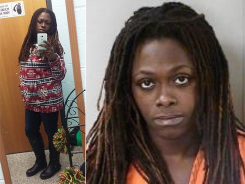 Andria James Arrested