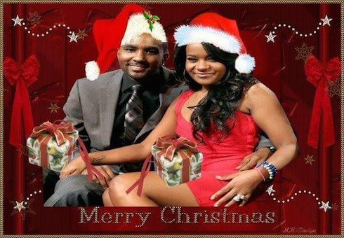 Bobbi Kristina Christmas card