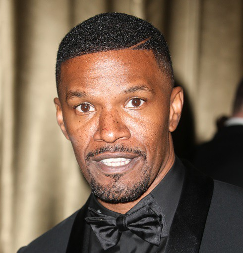 Jamie Foxx at Golden Globes afterparty